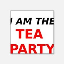 I am the Tea Party Sticker
