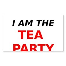 I am the Tea Party Decal