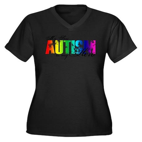 My Son My Hero - Autism Plus Size T-Shirt