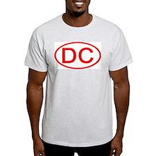 DC Oval - Washington DC Ash Grey T-Shirt