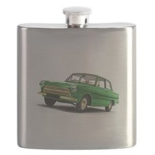Green MK1 Cortina Flask