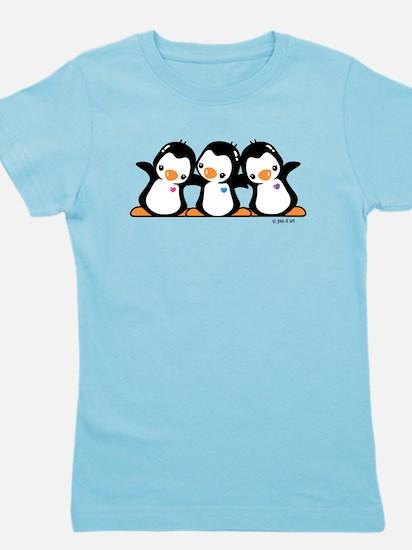 Penguins Girl's Tee