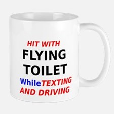 Hit with Flying Toilet while Texting and Driving M