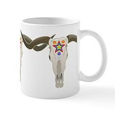 Longhorn Skull Mug