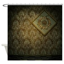 Steam Dreams: Cool Frame Shower Curtain