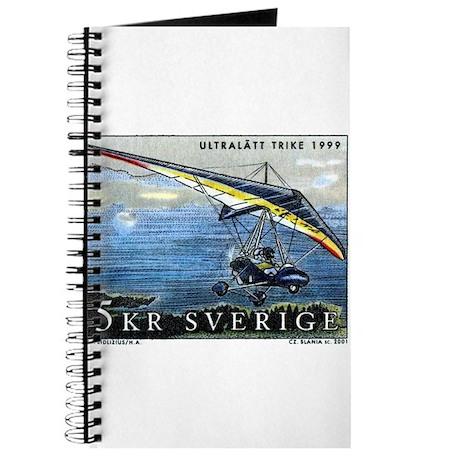 2001 Sweden Ultralight Aircraft Postage Stamp Jour