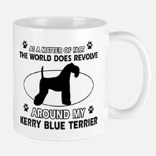 Kerry Blue Terrier Dog breed designs Mug