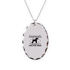 Kerry Blue Terrier Dog breed designs Necklace