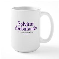 Solvitur Ambulando (it is solved through walking)
