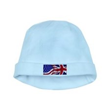 USA-Union Jack Flags baby hat