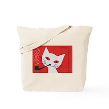 Pipe Cat Tote Bag