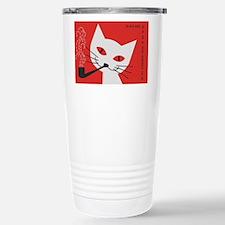 Pipe Cat Travel Mug