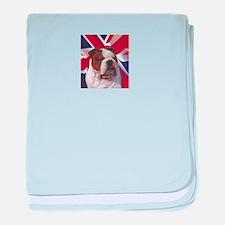 Bulldog UJ baby blanket