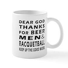 Beer Men and Racquetball Mug