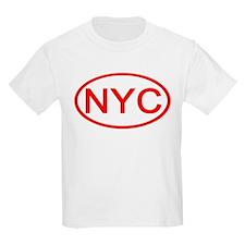NYC Oval - New York City Kids T-Shirt