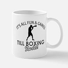 Boxing enthusiast designs Mug
