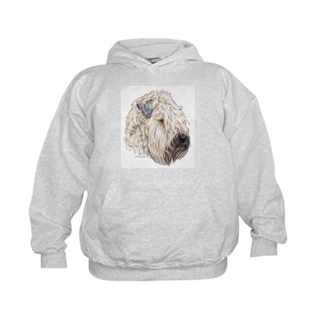 Soft Coated Wheaten terrier Kids Hoodie