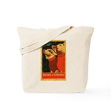 Belka and Strelka Tote Bag