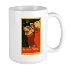 Belka and Strelka Mug