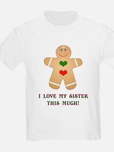 Love Sis Kids T-Shirt