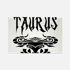 Taurus black letters Rectangle Magnet