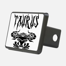 Taurus black letters Hitch Cover
