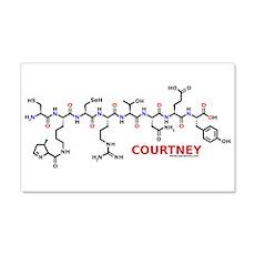 Courtney molecularshirts.com Wall Decal