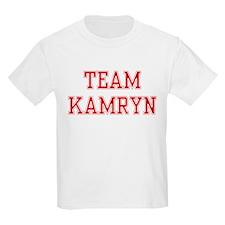 TEAM KAMRYN  Kids T-Shirt