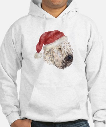 Christmas Soft Coated Wheaten Hoodie