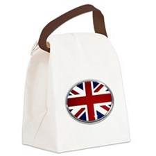 Union Jack Oval Canvas Lunch Bag