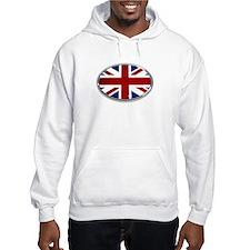Union Jack Oval Hoodie