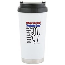 Prostrate Warning Travel Mug