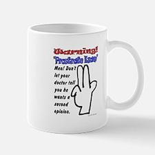 Prostrate Warning Mug