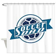 Soccer Dad Shower Curtain