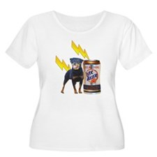 Share A Beer With Your Rottweiler Plus Size T-Shir