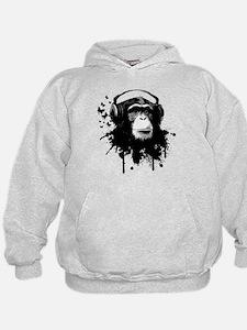 Headphone Monkey Hoodie