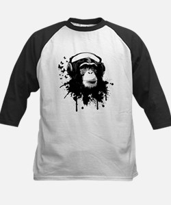 Headphone Monkey Baseball Jersey