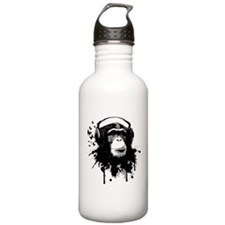 Headphone Monkey Water Bottle