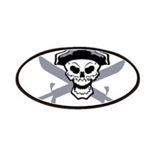 Pirate Skull and Swords 2 Patches