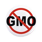 "No GMO! 3.5"" Button"