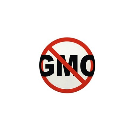 No GMO! Mini Button (10 pack)