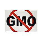No GMO! Rectangle Magnet