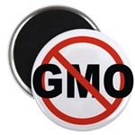 """No GMO! 2.25"""" Magnet (10 pack)"""