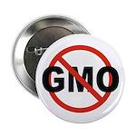"No GMO! 2.25"" Button (10 pack)"