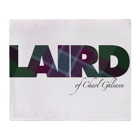 Laird of Chaol Ghleann Throw Blanket