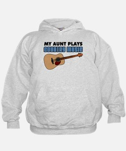 My Aunt Plays Country Music Hoodie