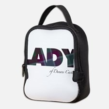 Lady of Dunans Castle Neoprene Lunch Bag