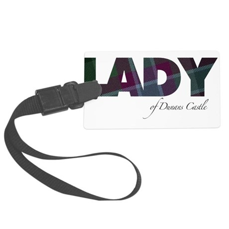Lady of Dunans Castle Luggage Tag