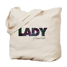 Lady of Dunans Castle Tote Bag