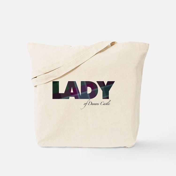 Lady of Dunans Castle Tote Bag